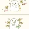 【イラスト】おばけちゃんと花粉症