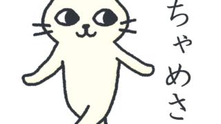 LINEスタンプ「ネコのちゃめさん」リリース