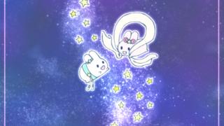 【イラスト】織姫と彦星のうさぎさん