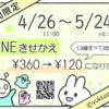【LINEきせかえ】2周年記念キャンペーン